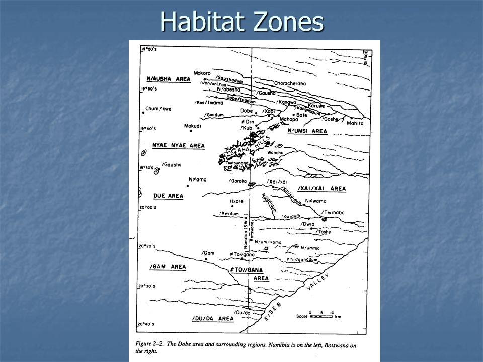 Habitat Zones