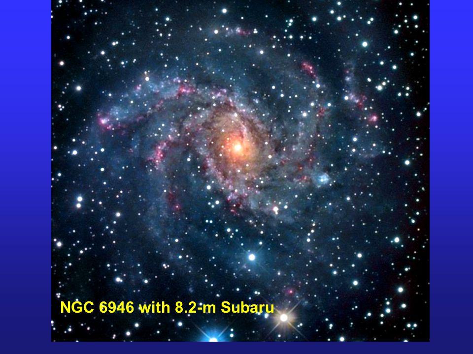 NGC 6946 with 8.2-m Subaru
