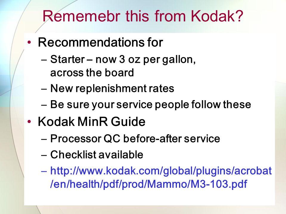 Rememebr this from Kodak.