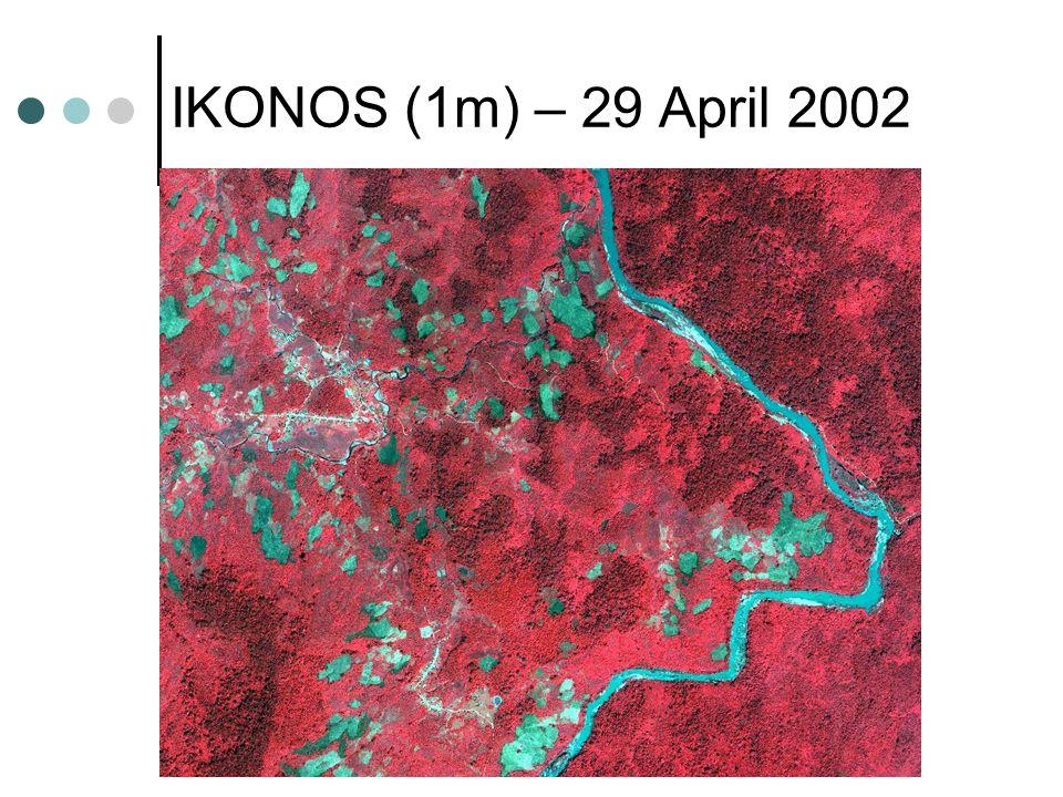 IKONOS (1m) – 29 April 2002