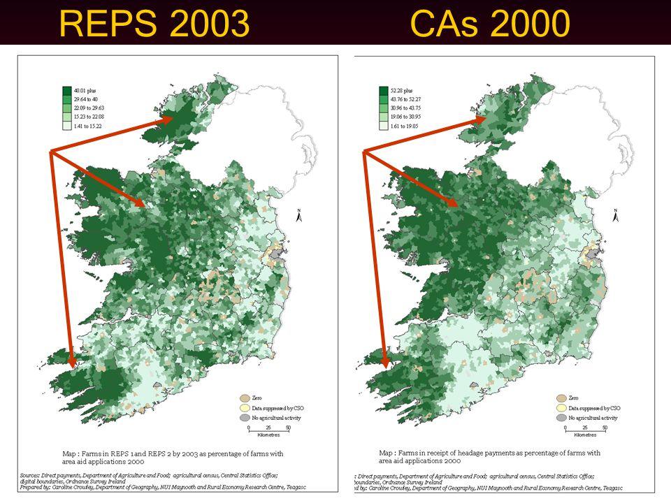 REPS 2003CAs 2000
