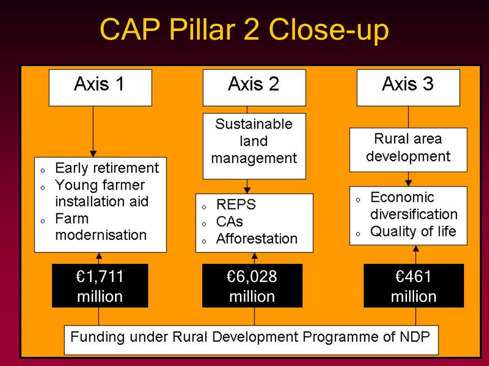 CAP Pillar 2 Close-up €1,711 million €6,028 million €461 million