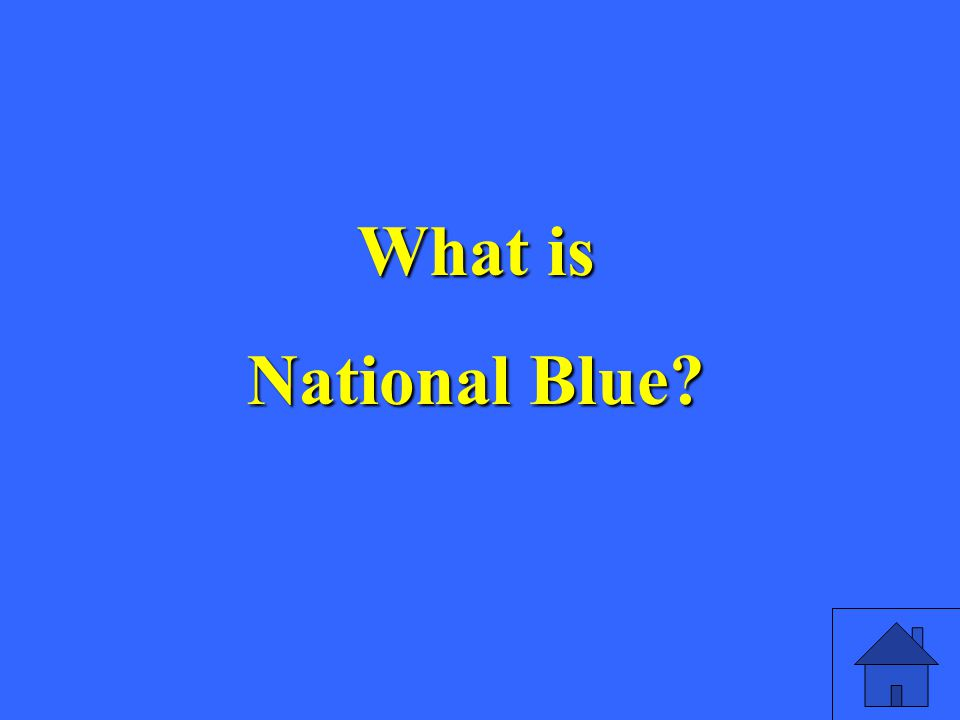 What is National Blue