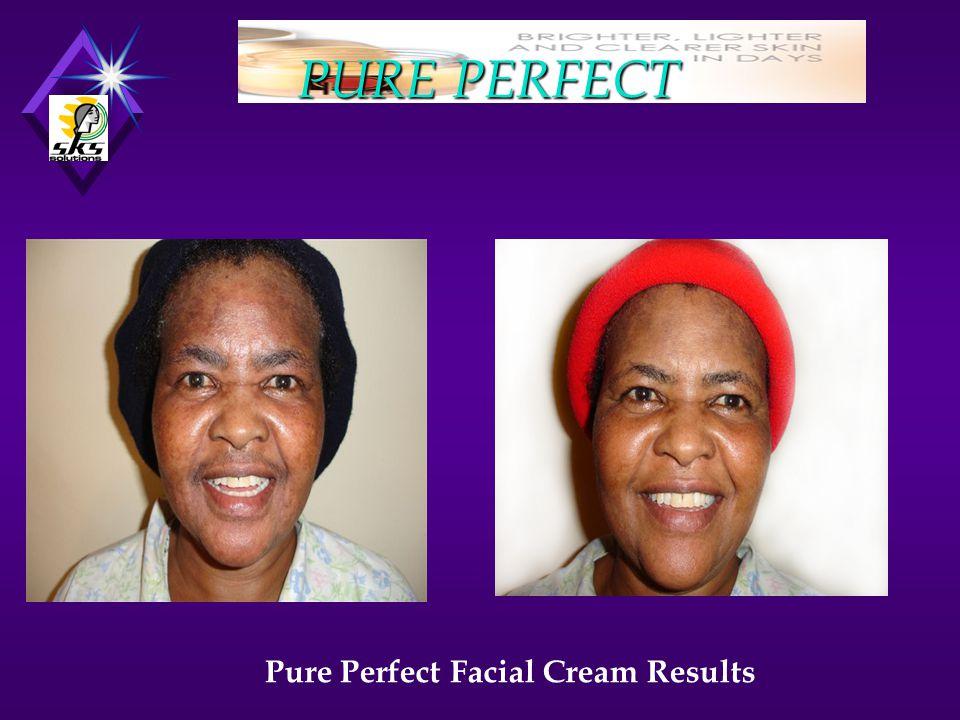 PURE PERFECT Pure Perfect Facial Cream Results