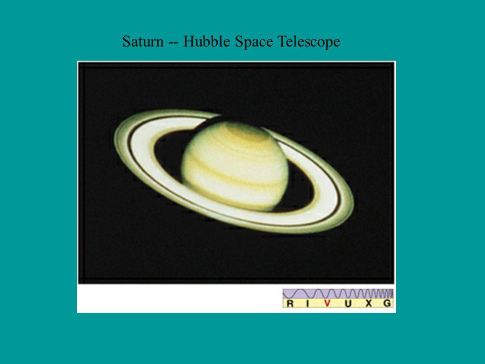 Saturn -- Hubble Space Telescope