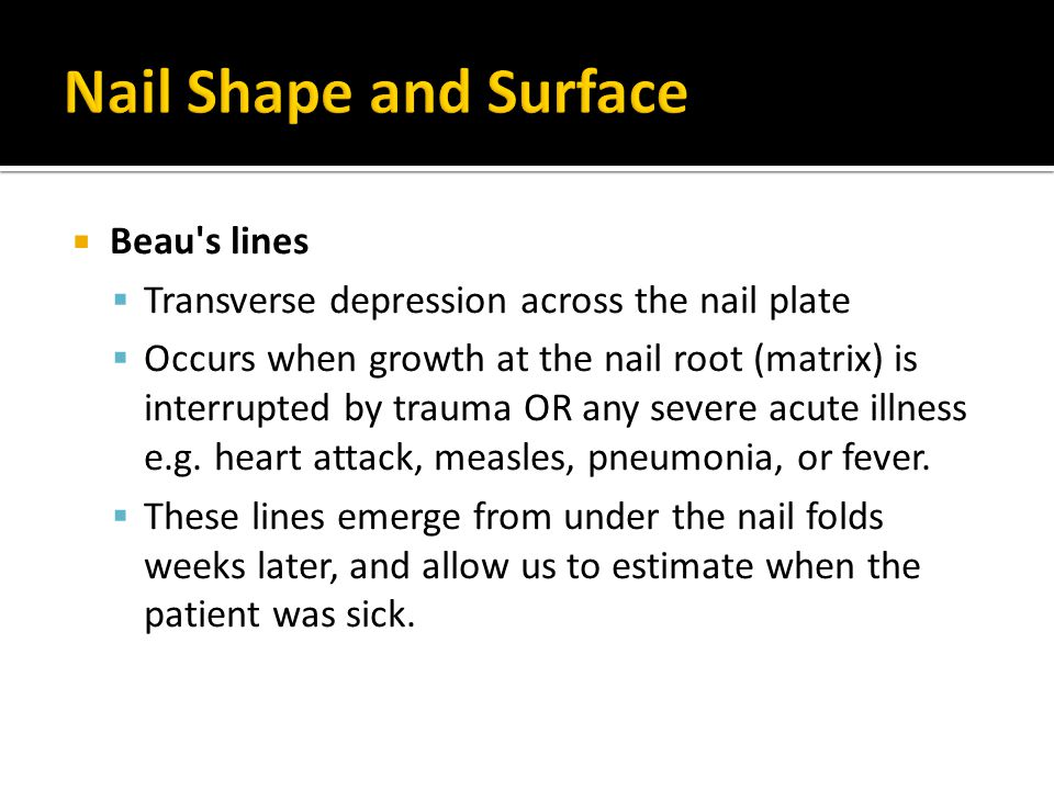  The nail becomes thin, rudimentary and smaller size congenital or acquired.