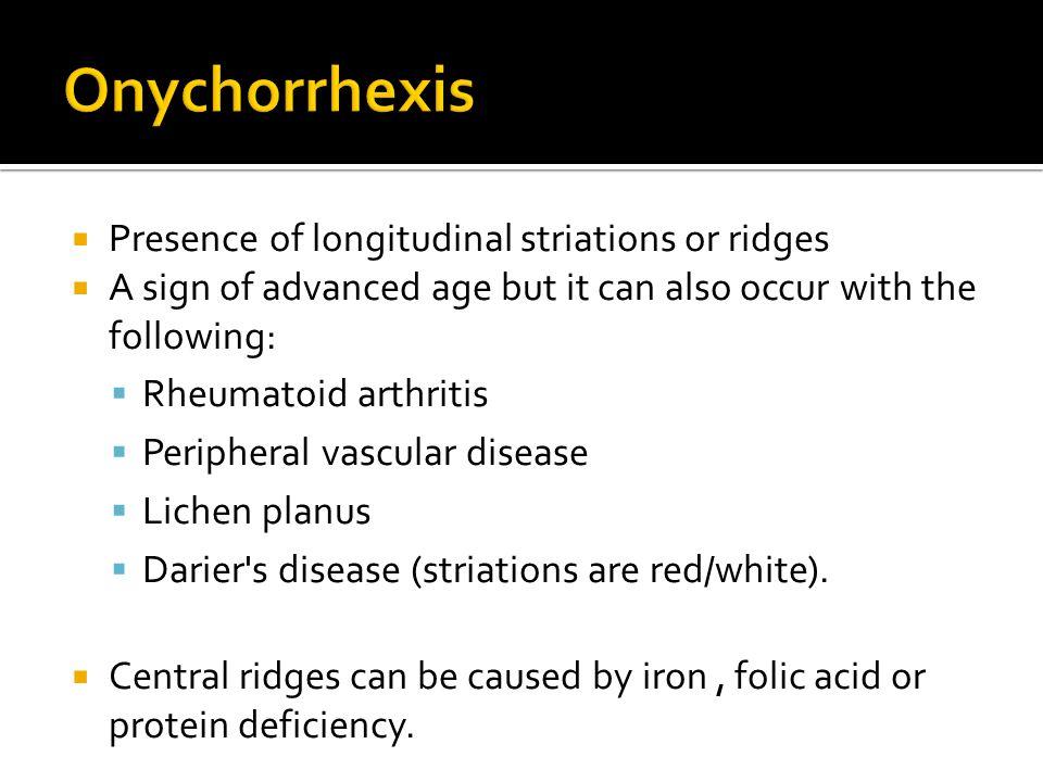  Causes: Atopic dermatitis, dyshidrotic eczema, irritant or contact dermatitis e.g.