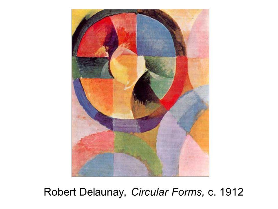Robert Delaunay, Circular Forms, c. 1912