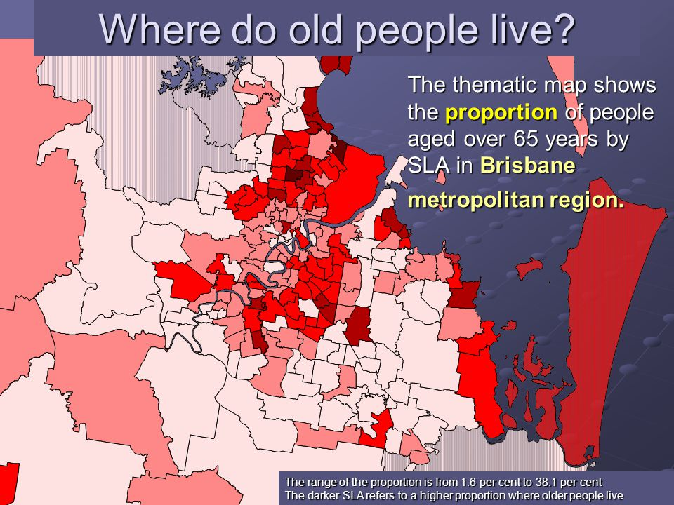 14 Where do old people live.