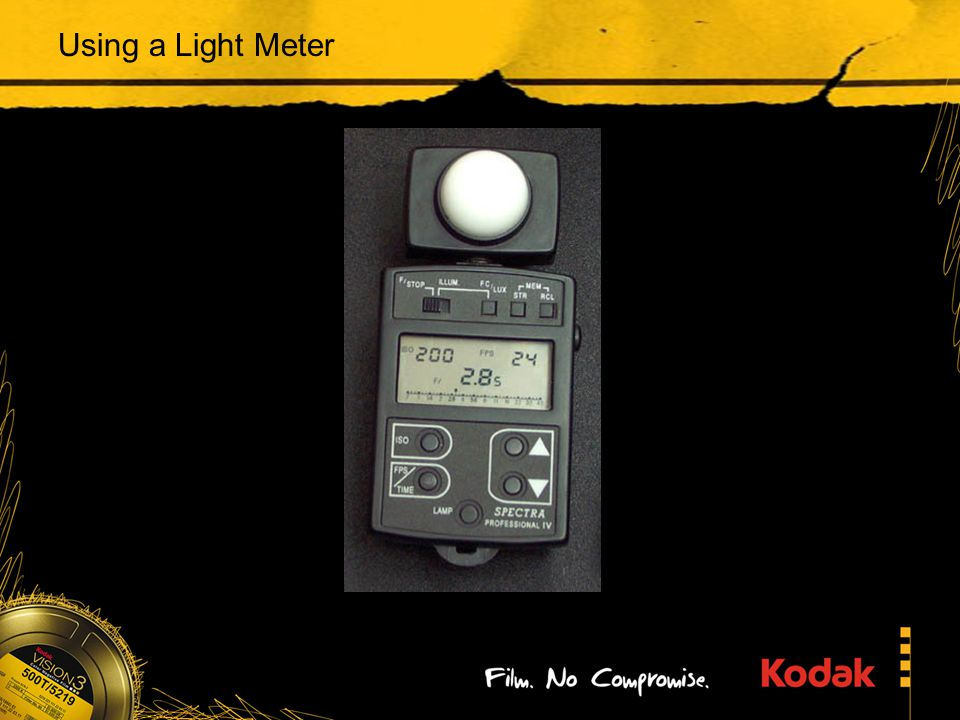 Using a Light Meter