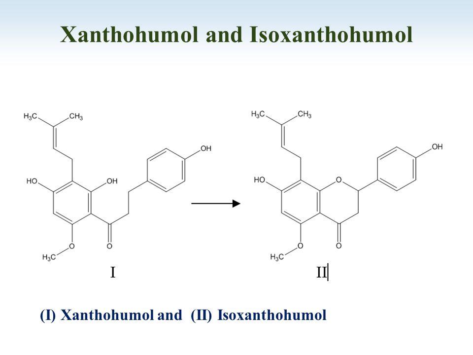 (I) Xanthohumol and (II) Isoxanthohumol Xanthohumol and Isoxanthohumol