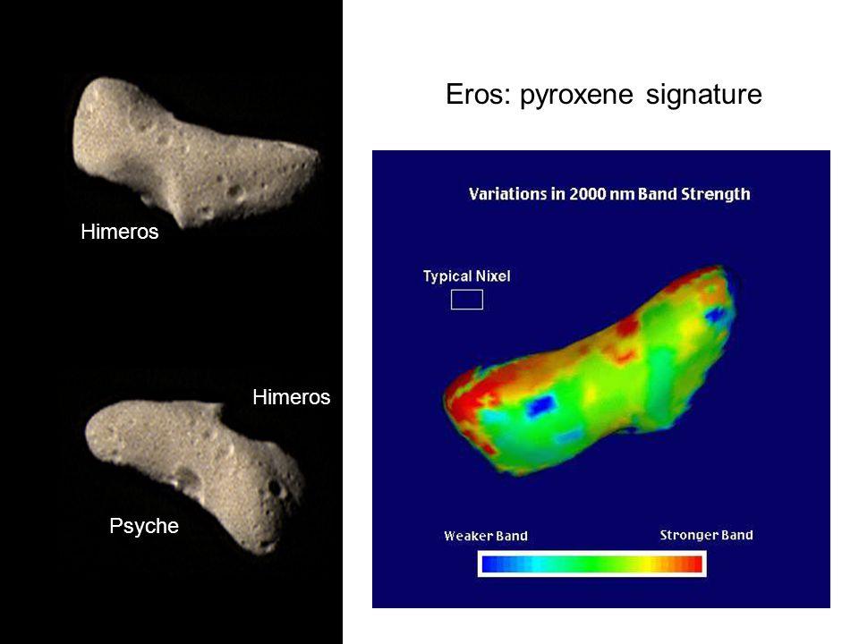 Eros: pyroxene signature Himeros Psyche