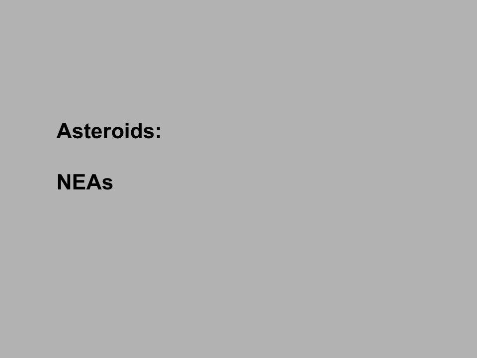Asteroids: NEAs