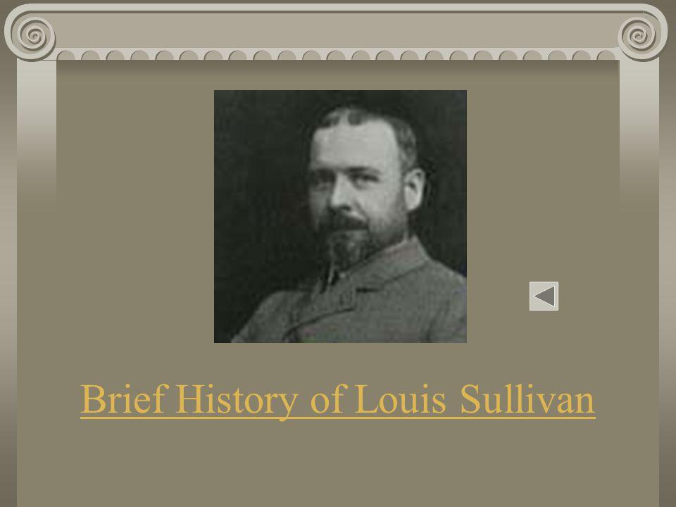 Louis Sullivan's Bradley House Madison, Wisconsin