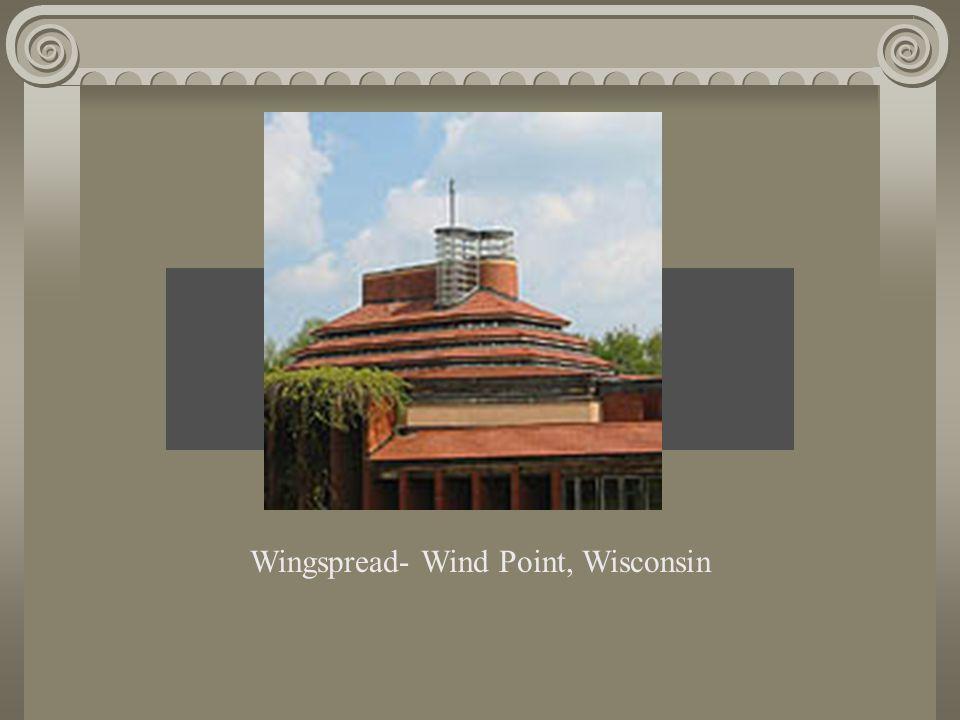 Brief History of Frank Lloyd Wright