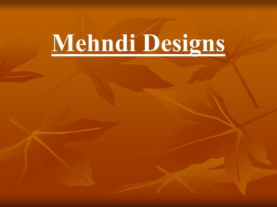 Mehndi Designs