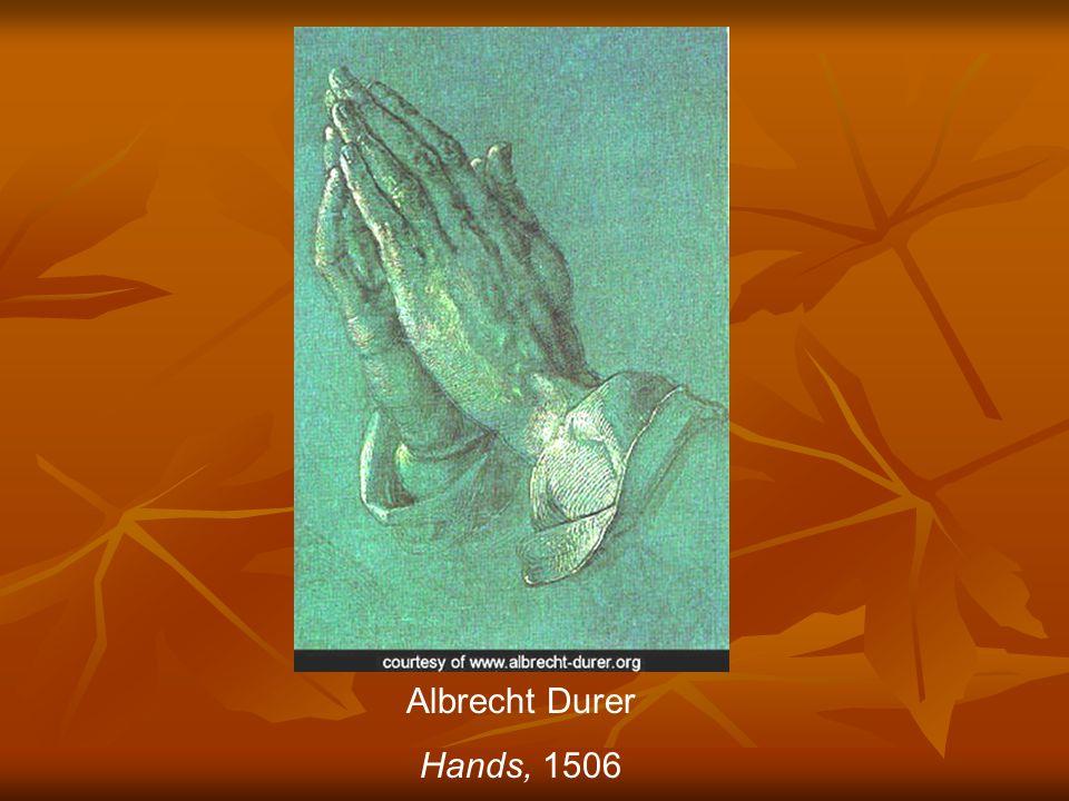 Albrecht Durer Hands, 1506