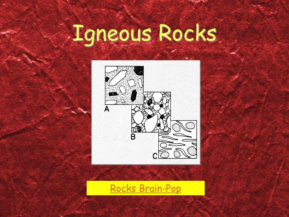 Igneous Rocks Rocks Brain-Pop