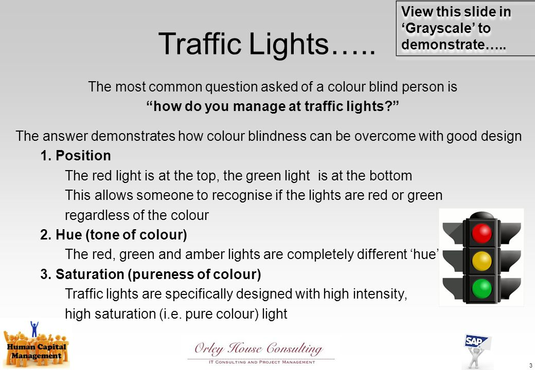 Traffic Lights…..