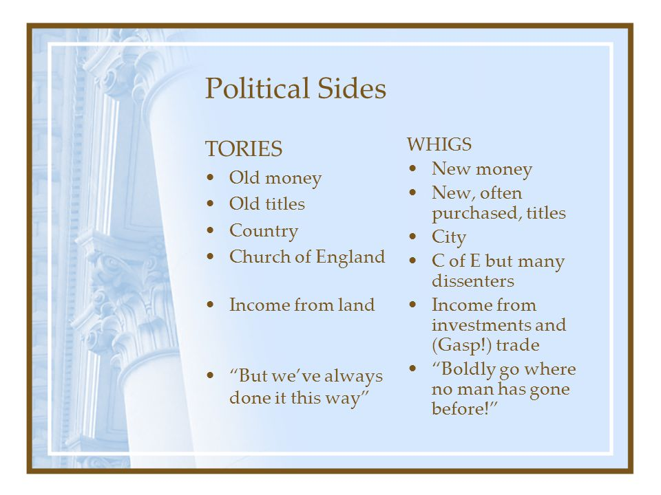 Economics Age of booms and busts— Bubbles Beginnings of empire and colonialism ( Rule Britannia ) Age of exploration and discovery (Capt.