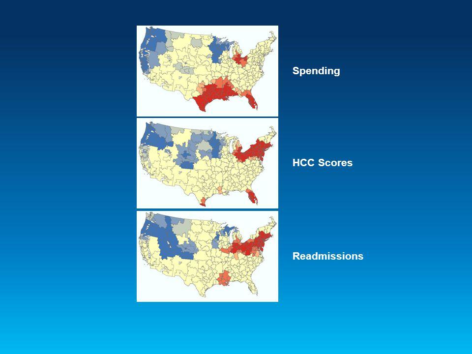 Spending HCC Scores Readmissions