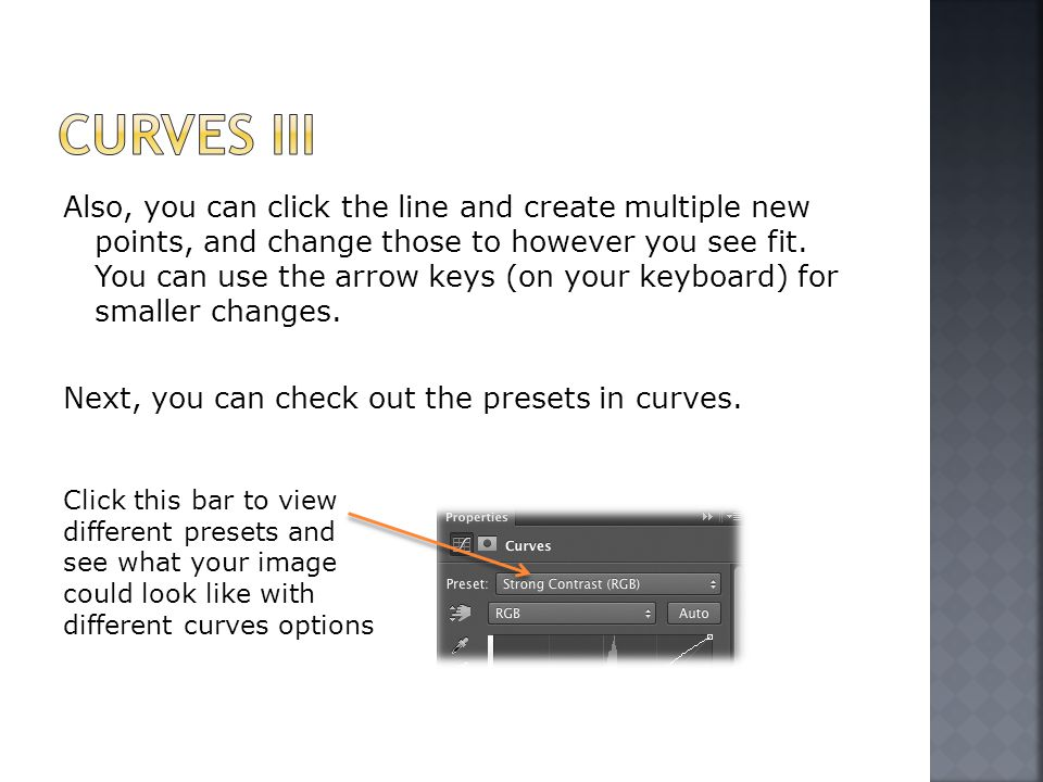 Also, you can click the line and create multiple new points, and change those to however you see fit.