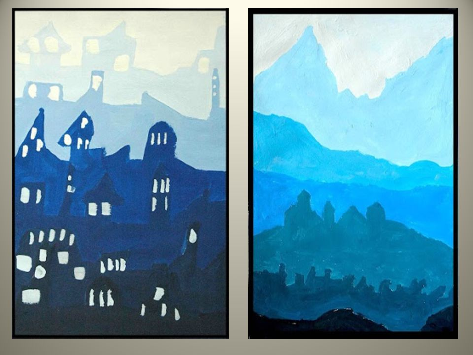 Using Value And Color To Create Atmospheric Perspective Ms