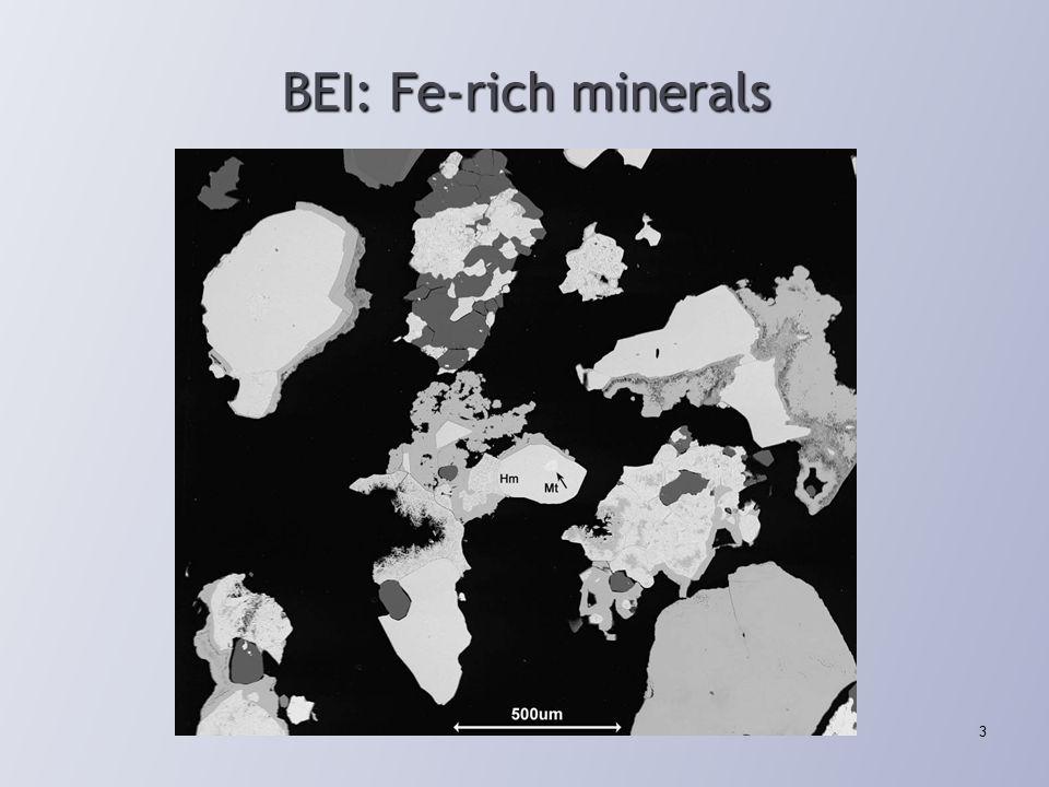 BEI: Fe-rich minerals 3