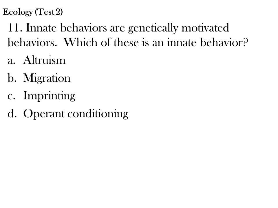 12.Which statement best describes pheromones.