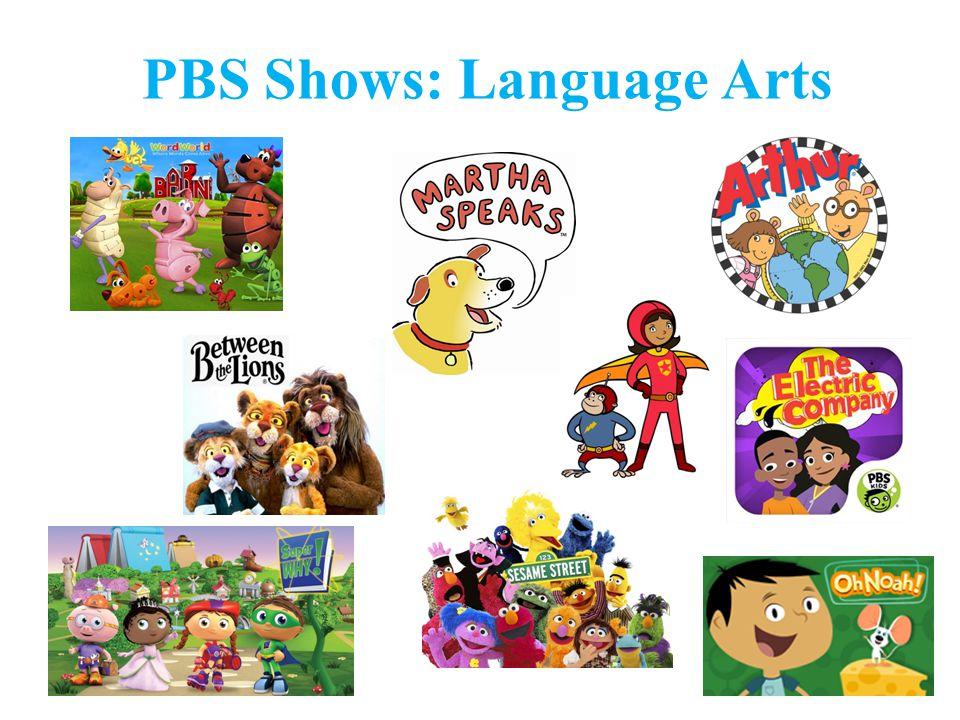 PBS Shows: Language Arts