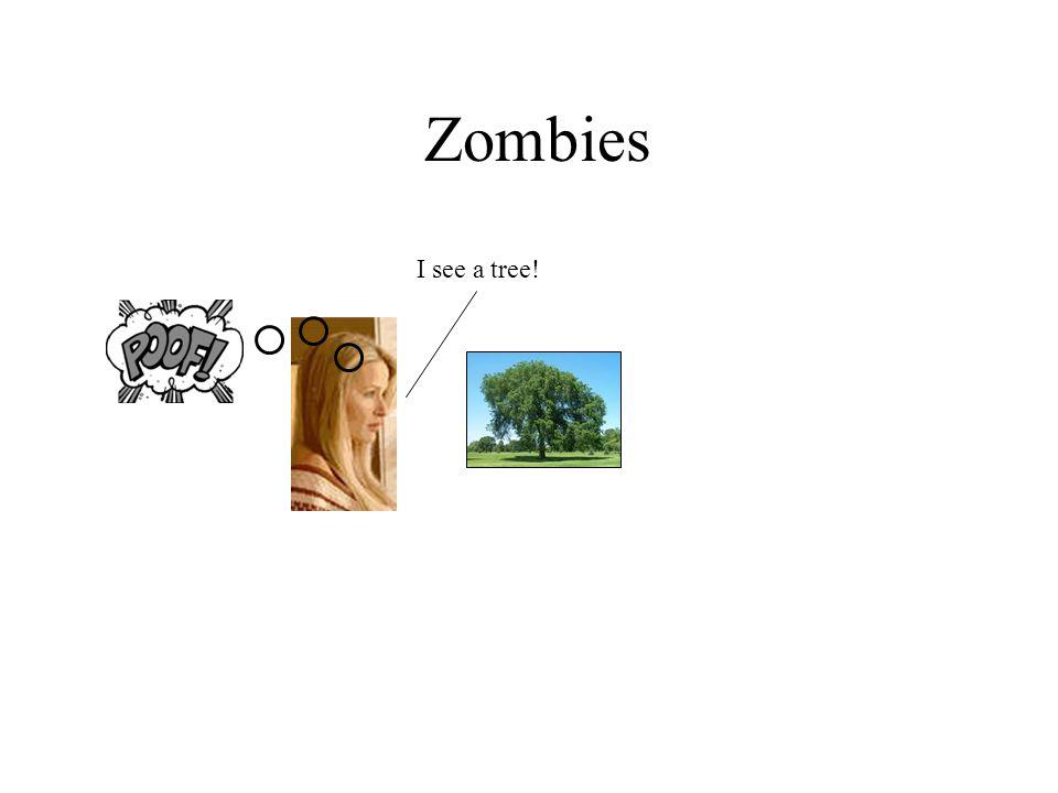 Zombies I see a tree!