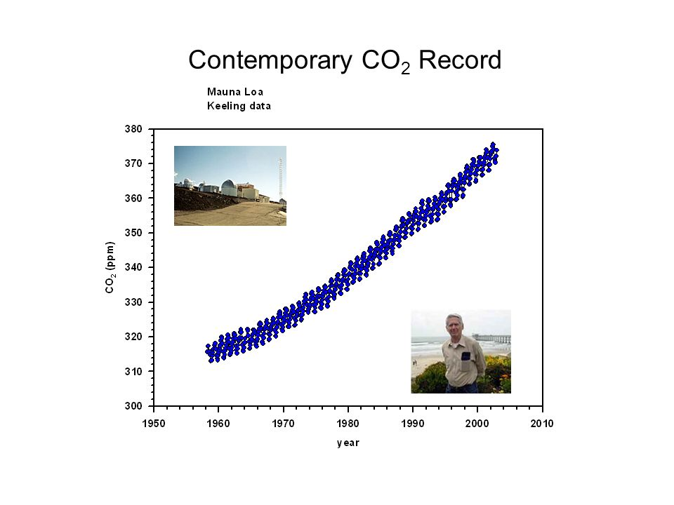 Contemporary CO 2 Record