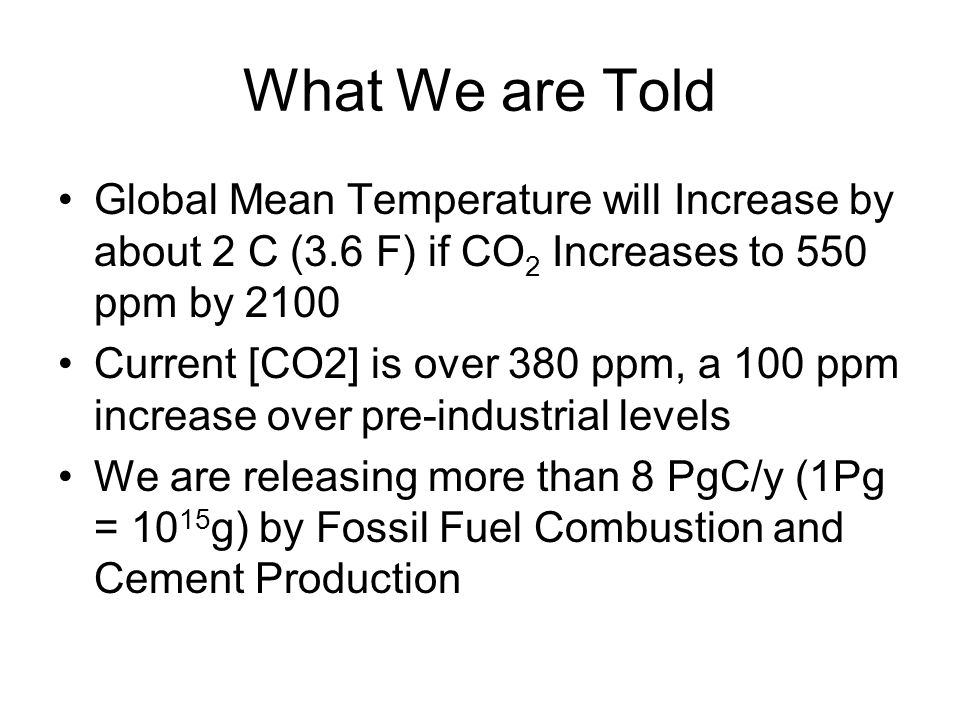 Raupach, IBPG Newsletter Much Confusion about: How Much CO 2 We can Emit to Prevent Certain Temperature Increase.