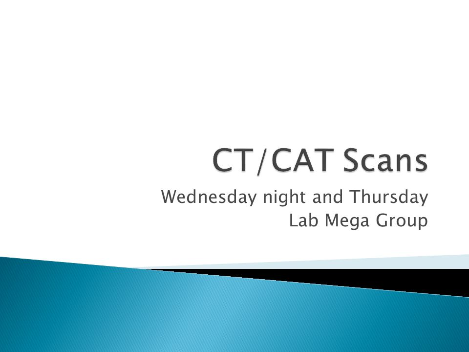 Wednesday night and Thursday Lab Mega Group