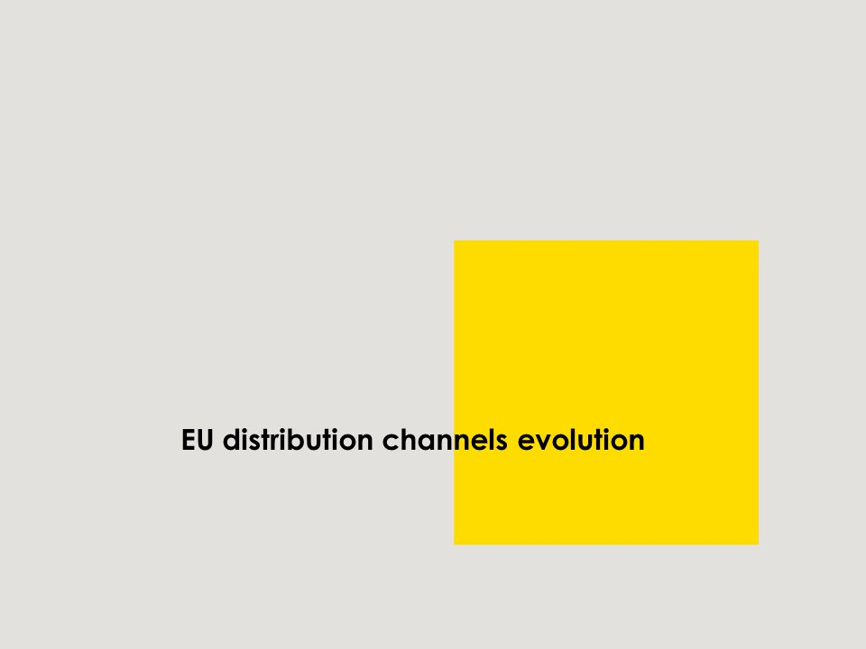 EU distribution channels evolution