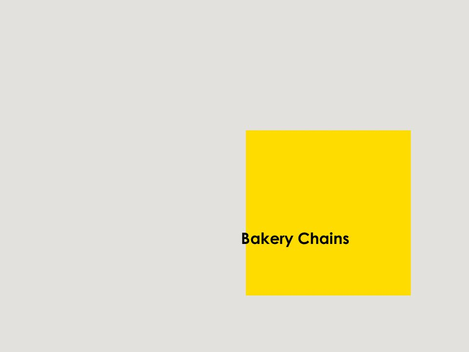 Bakery Chains