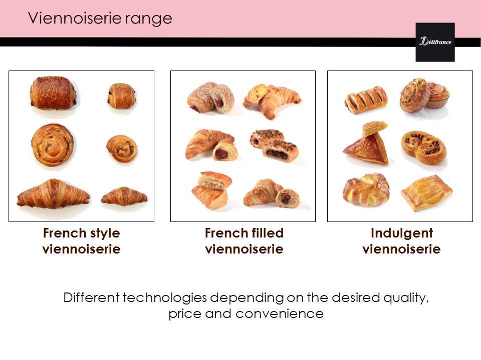 A large range of French pâtisserie Eclairs, religieuses, Paris-Brest… Entremets Mille-feuilles Tartes, tartelettes Mignardises Verrines Macaroons
