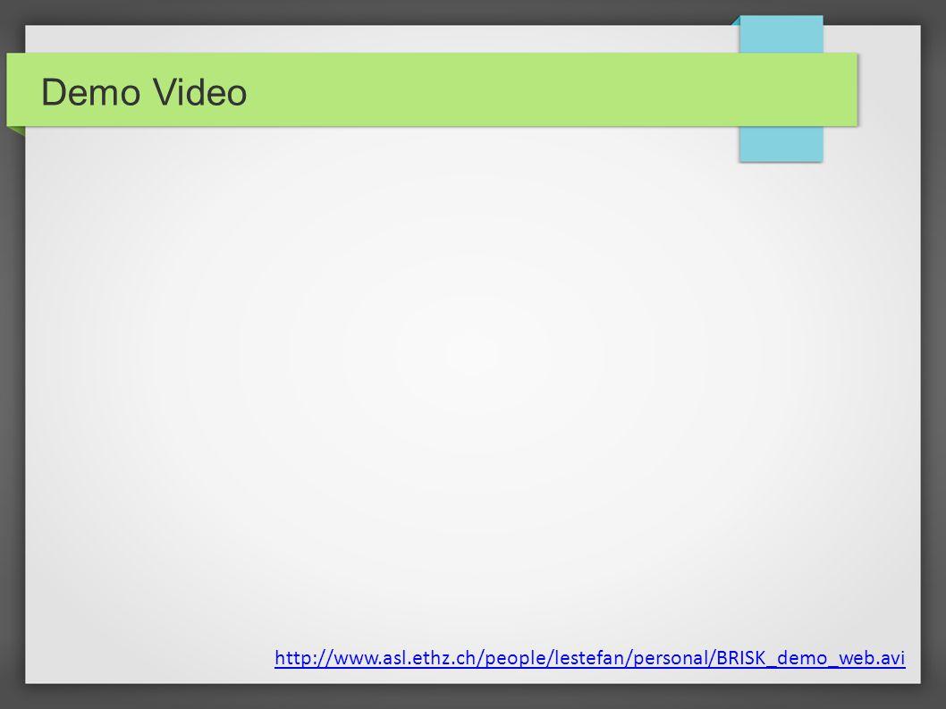 Demo Video http://www.asl.ethz.ch/people/lestefan/personal/BRISK_demo_web.avi