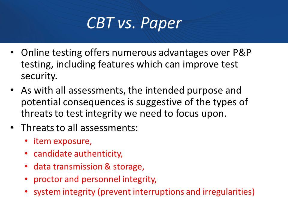 CBT vs.
