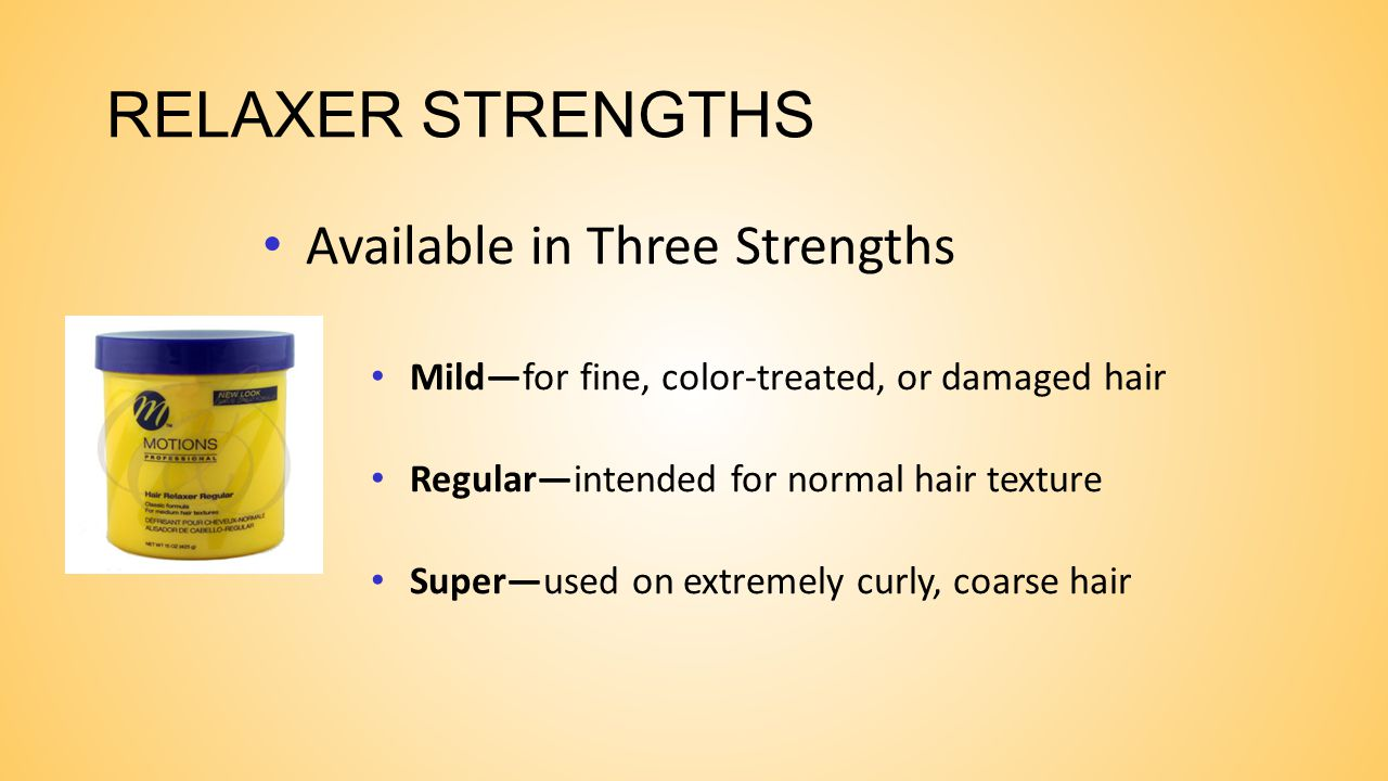 BASE AND NO-BASE RELAXERS BASE RELAXERS These require application of a base cream. A base cream is an oily cream used to protect skin and scalp during