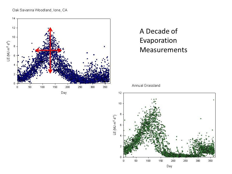 Interannual Variation in Net Carbon Exchange: Grassland is Carbon Neutral; Savanna is a C Sink