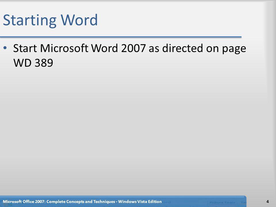 Setting Custom Margins Display the Page Layout tab.