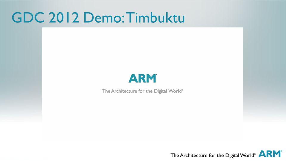 GDC 2012 Demo: Timbuktu