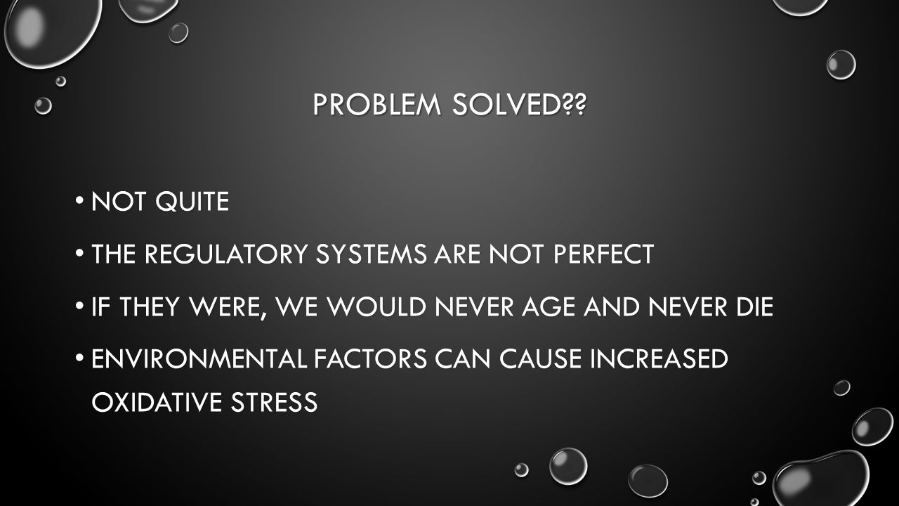 PROBLEM SOLVED?.