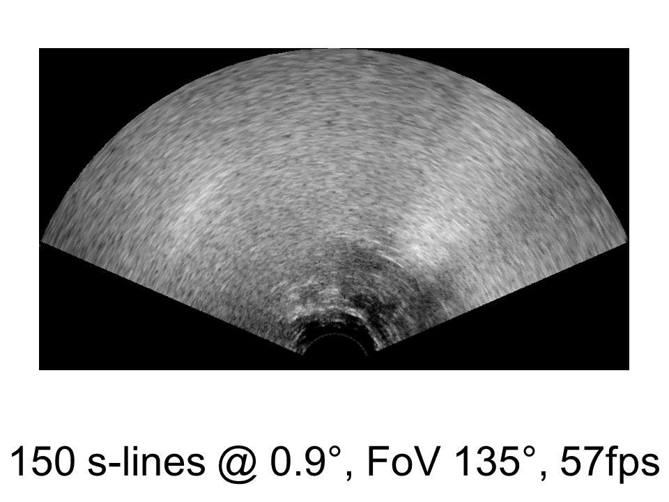 150 s-lines @ 0.9°, FoV 135°, 57fps