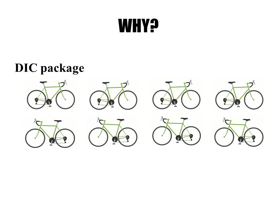 WHY? DIC package
