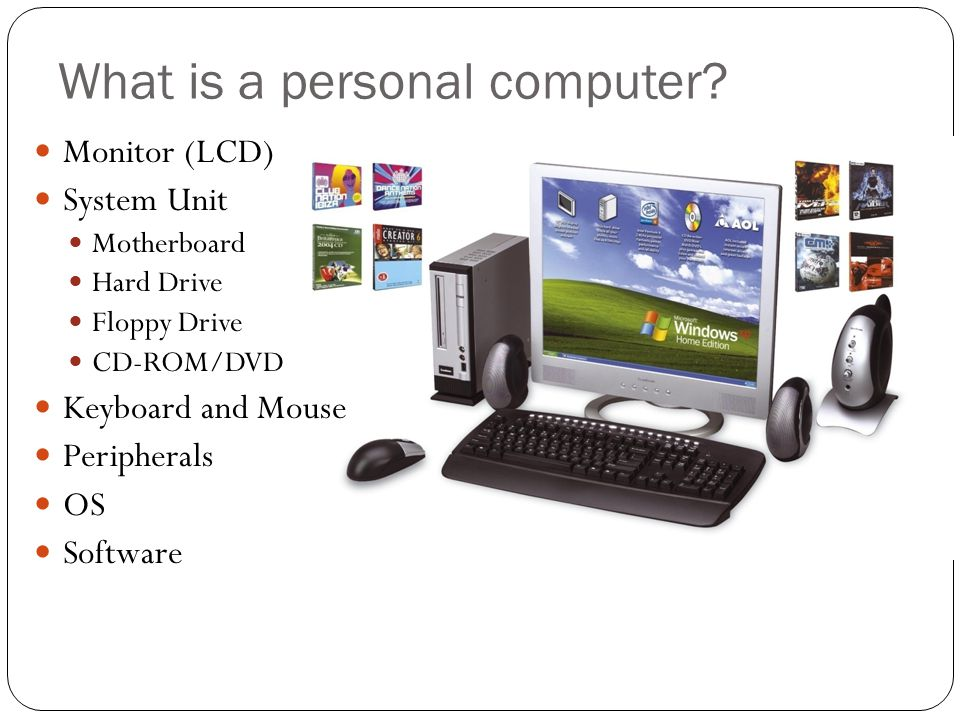 What is a personal computer.