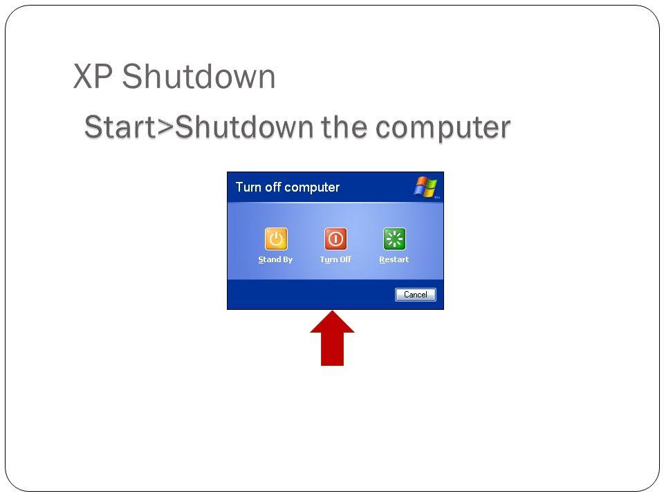 XP Shutdown