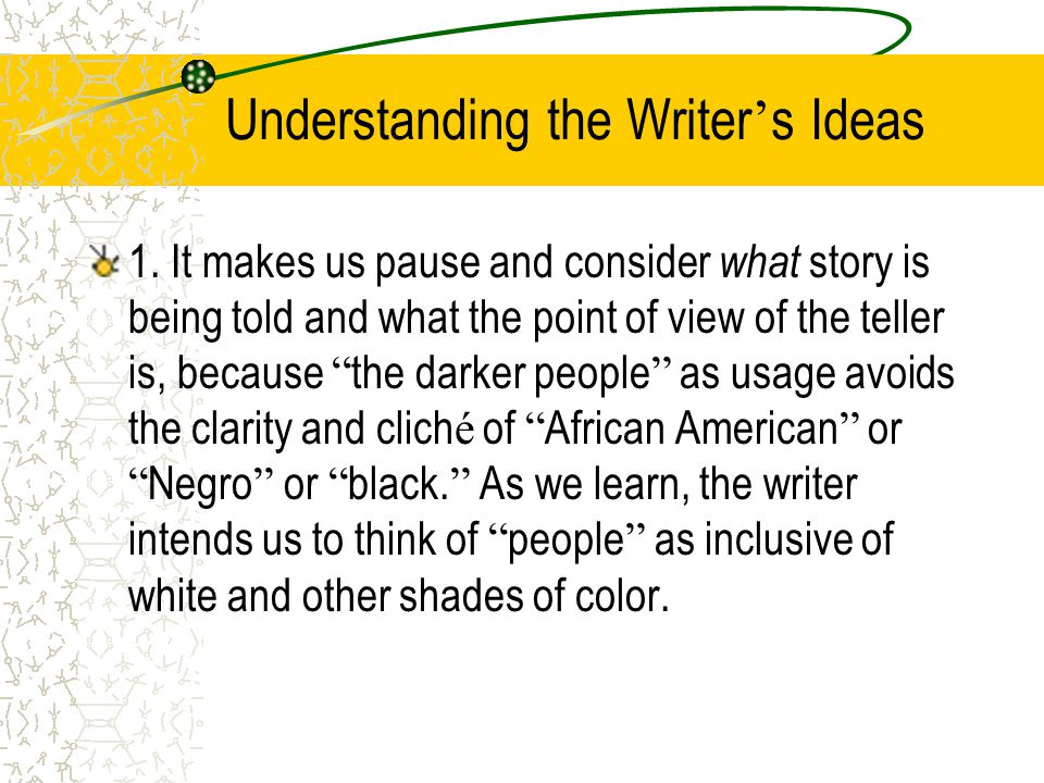 Post-reading Compare and contrast these words: The darker people The blacks Negros Anti-Semitism