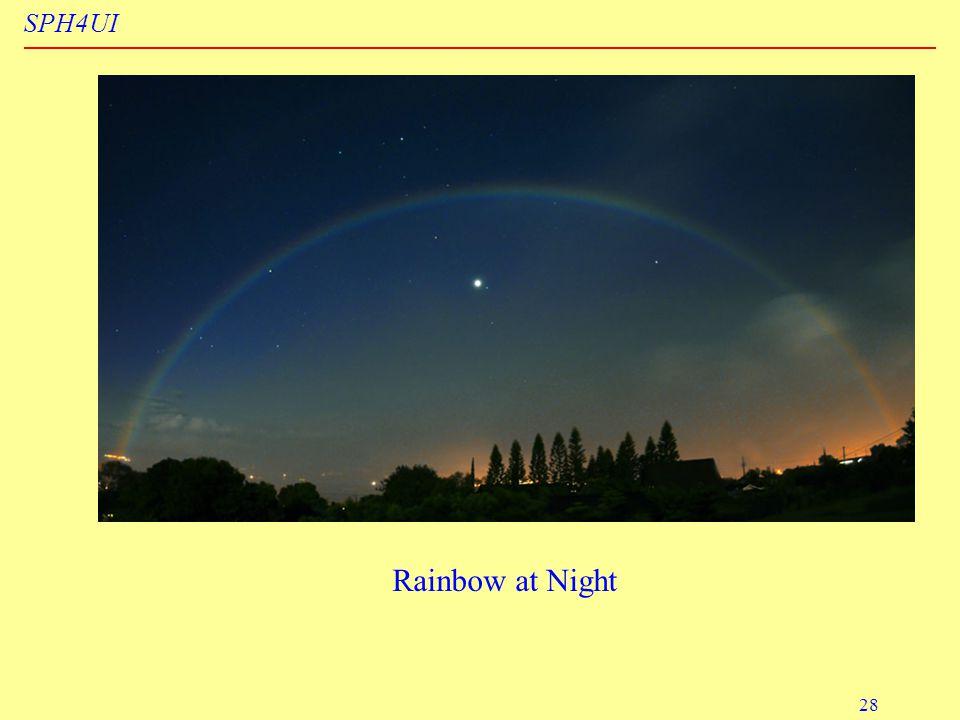 SPH4UI 28 Rainbow at Night